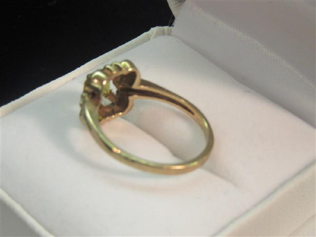 14k Yellow Gold Topaz Ring - 3