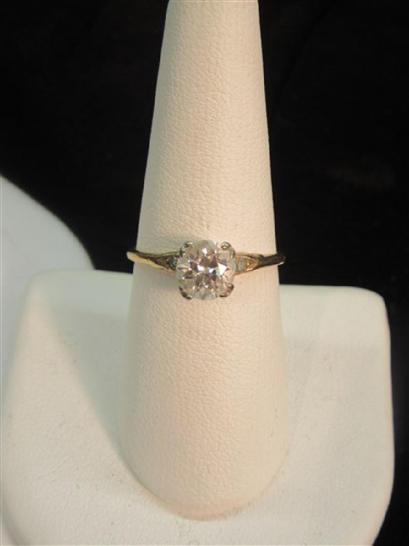 Estate Diamond Engagement Ring