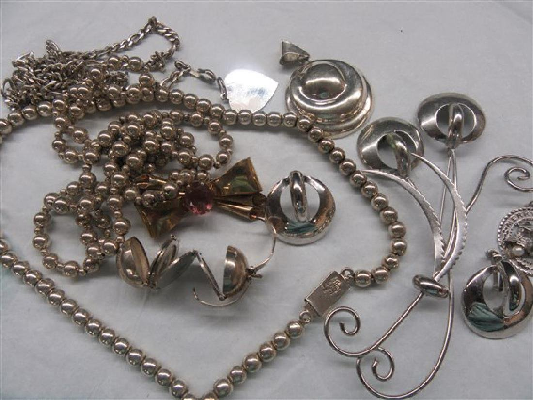 Sterling Silver Jewelry Group - 4