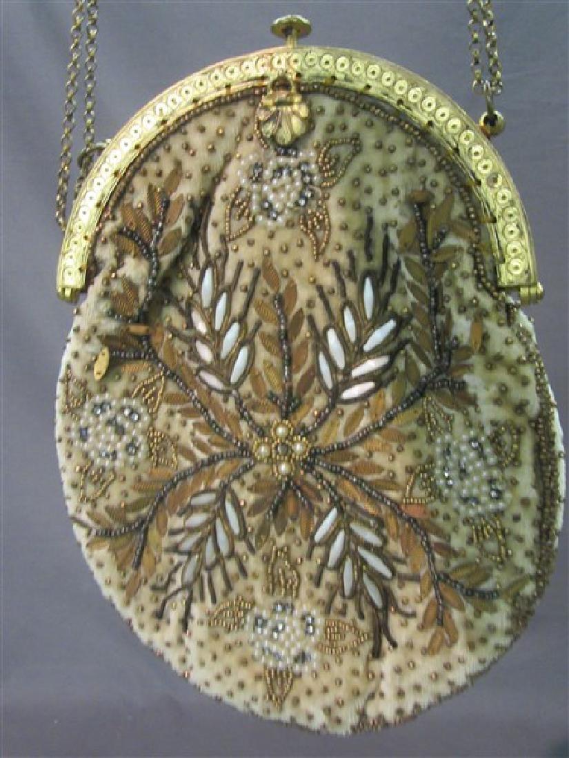 Three (3) Victorian Beaded Bags - 2
