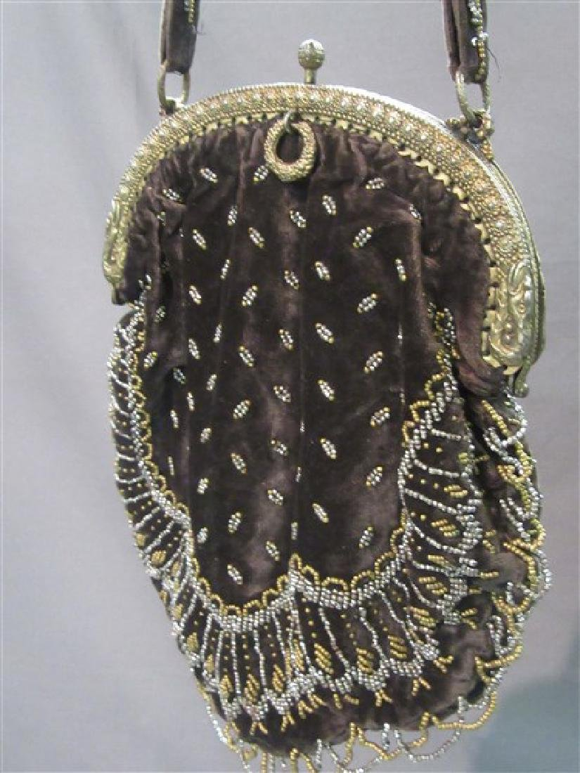 Three (3) Victorian Beaded Bags - 3