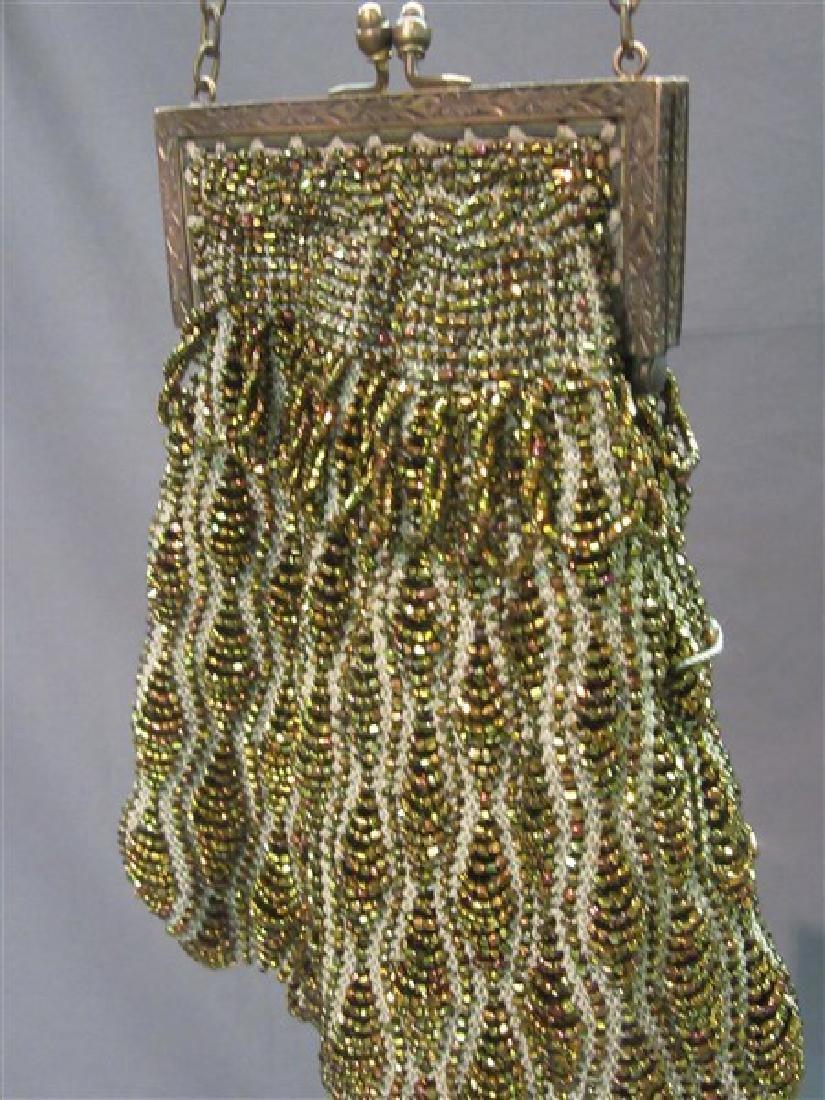 Three (3) Victorian Beaded Bags - 4