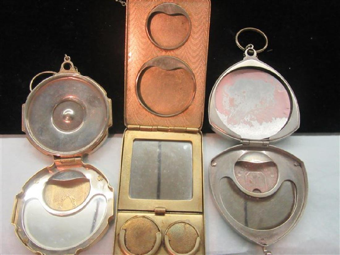 Three (3) 1920's Compacts - 2