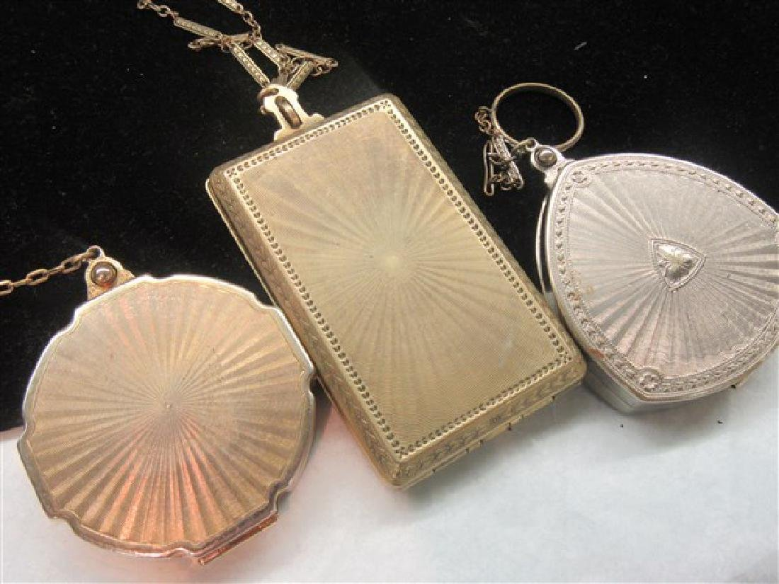 Three (3) 1920's Compacts - 3