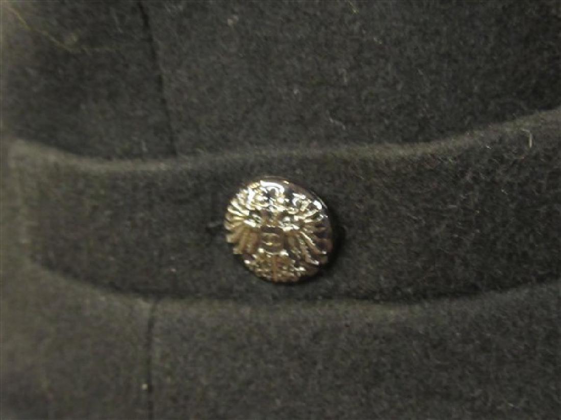 Chanel 100% Wool Laine Black Dress - 2