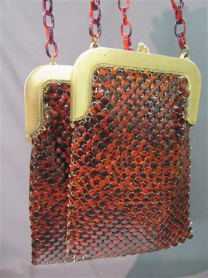 Whiting & Davis Vintage Wide Mesh Bags - 2