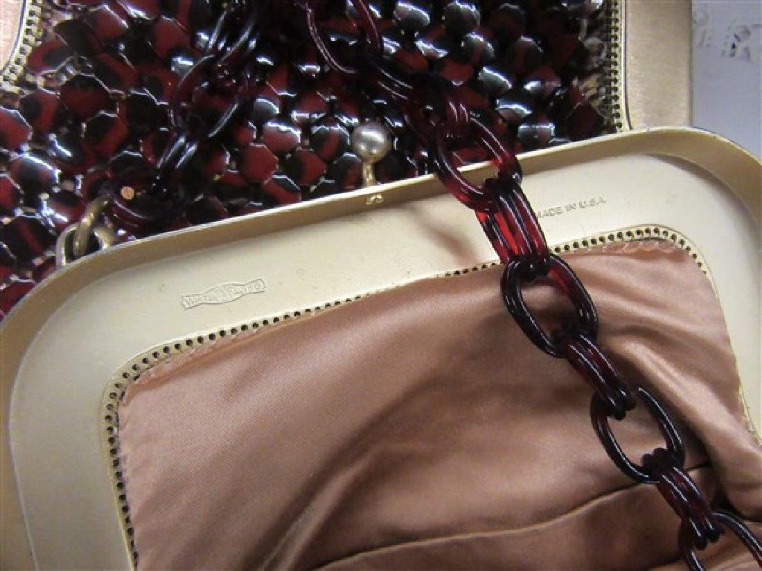Whiting & Davis Vintage Wide Mesh Bags - 3