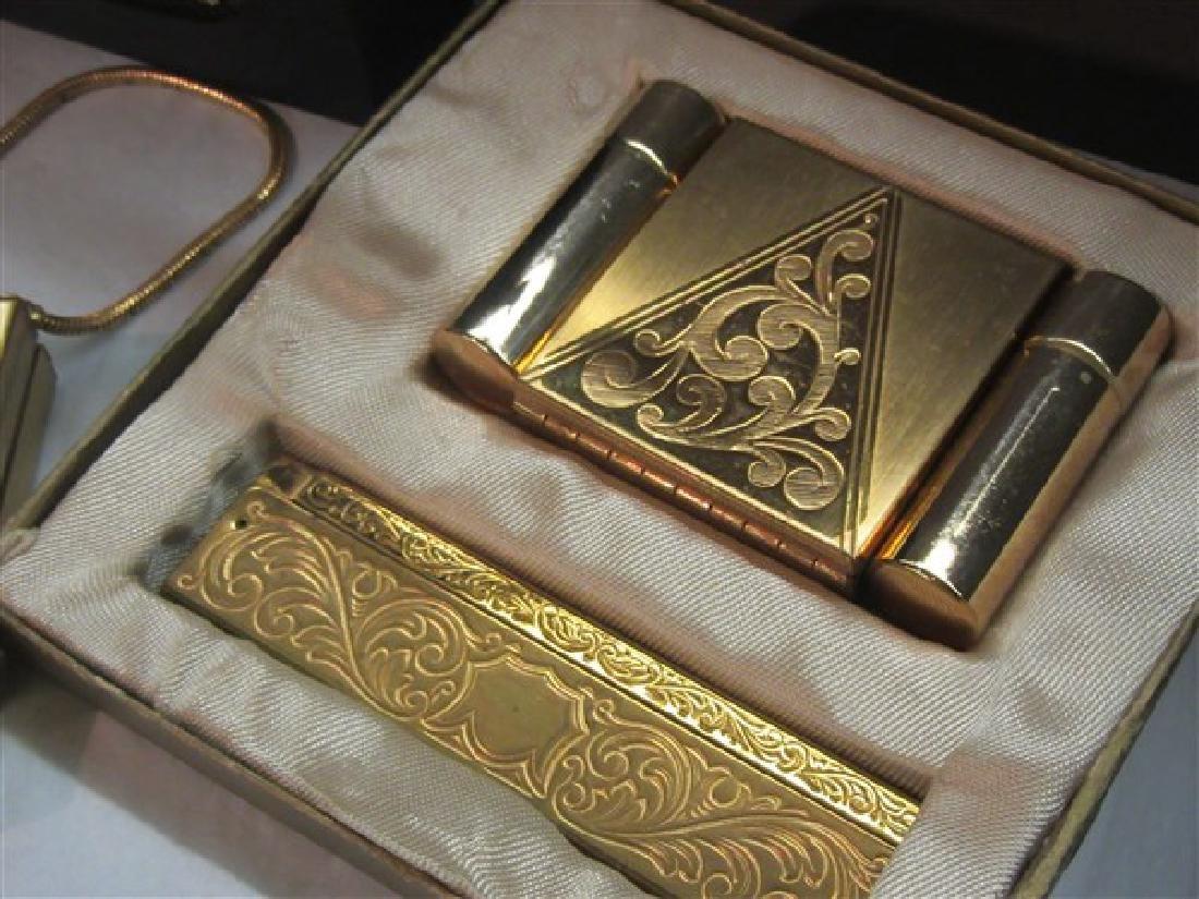 Four (4) Vintage Wristlet Compacts - 3