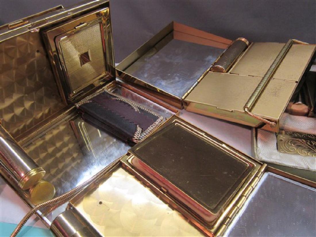 Four (4) Vintage Wristlet Compacts - 4