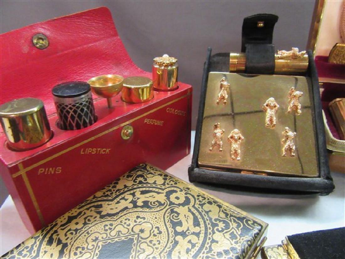Six (6) Piece Vintage Compact Sets - 2