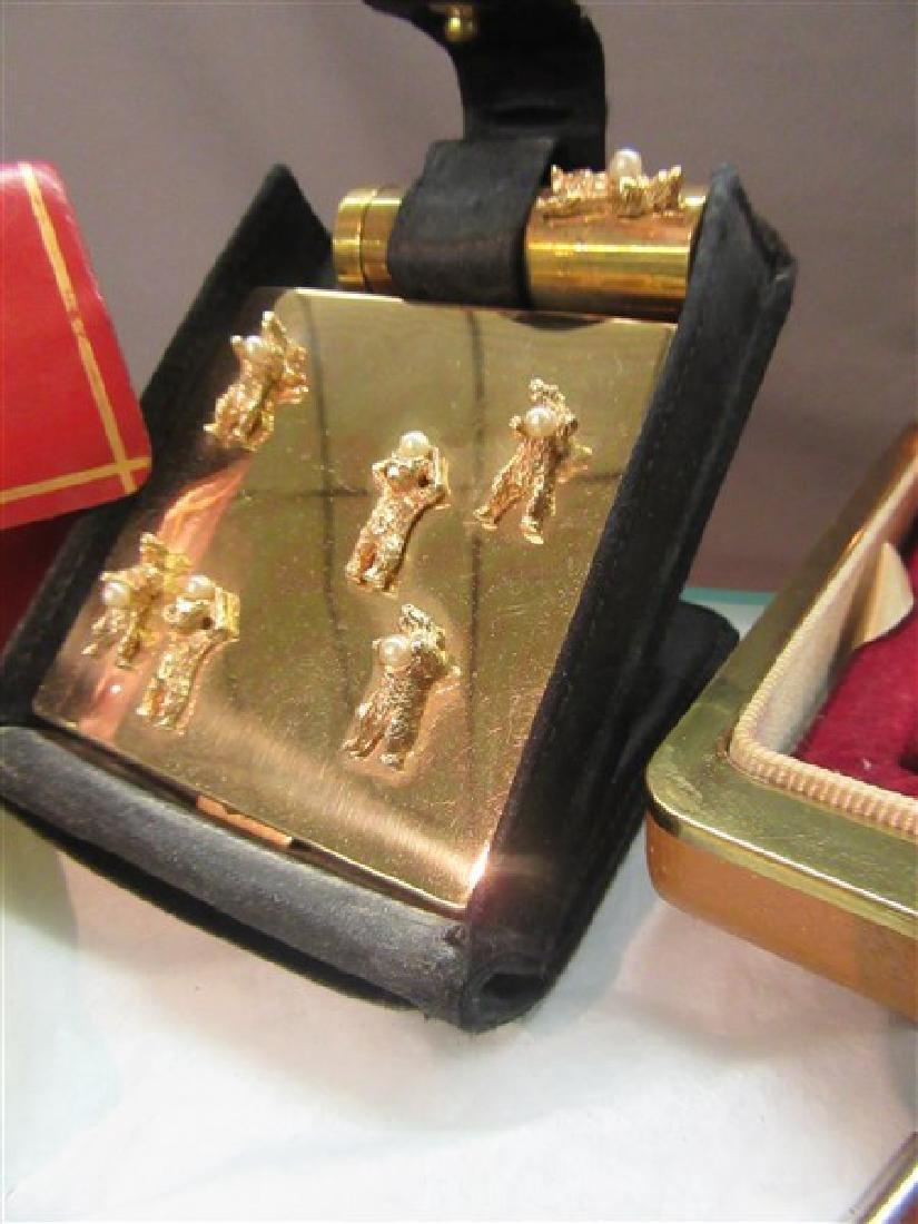 Six (6) Piece Vintage Compact Sets - 3