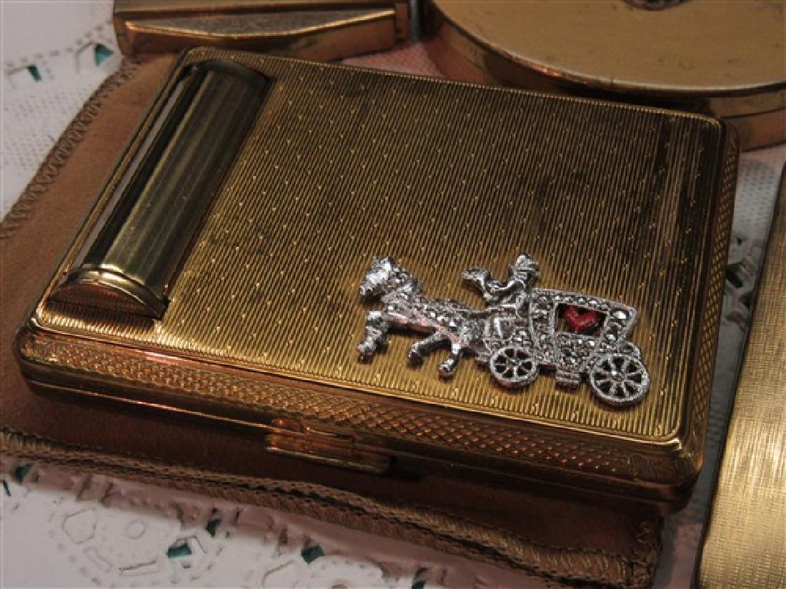 Eight (8) Vintage Compacts - 3