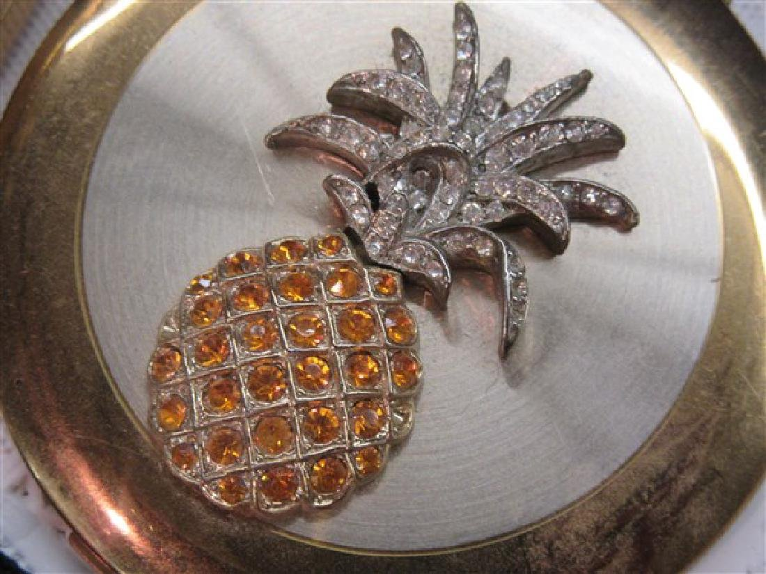 Eight (8) Vintage Jeweled Compacts - 3