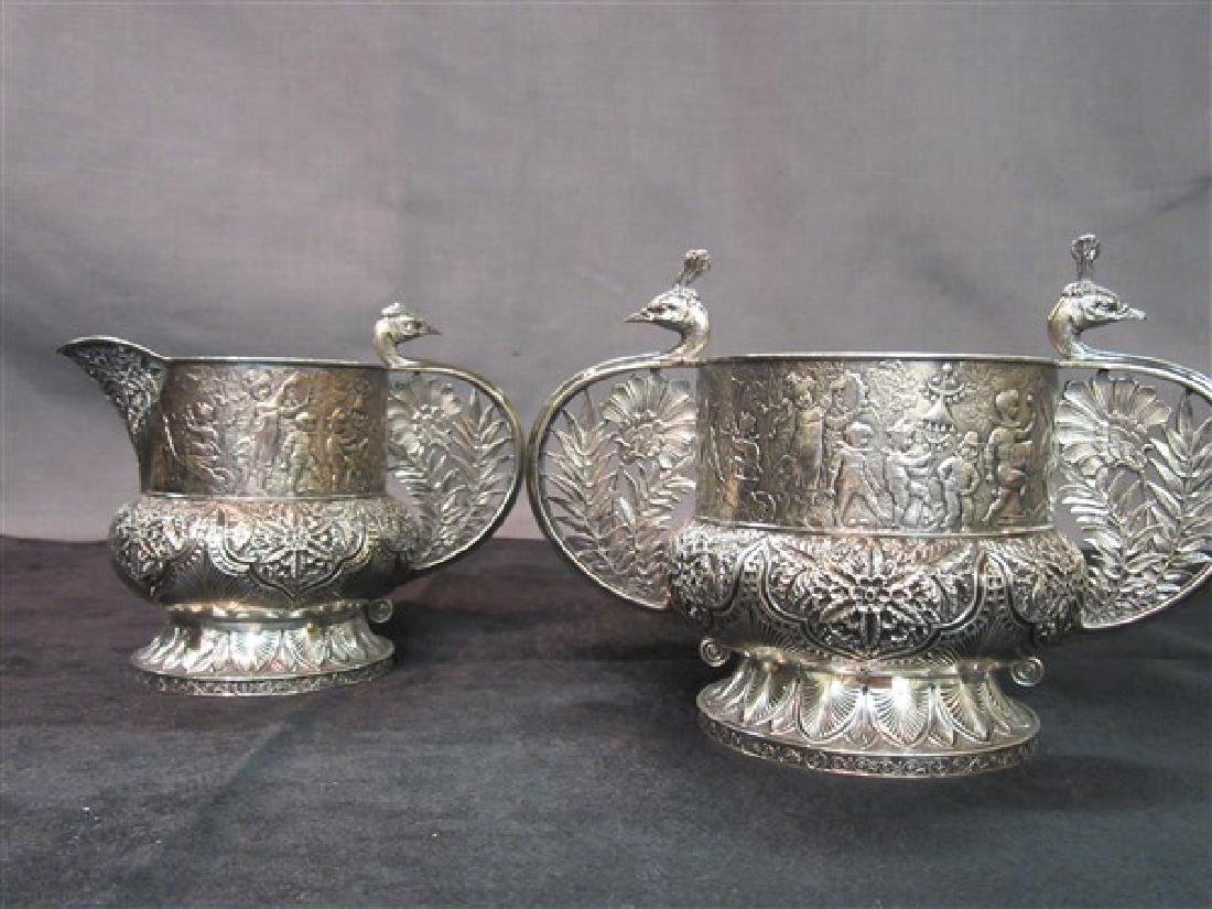 Tiffany & Co. Makers Sterling Silver Sugar And Creamer