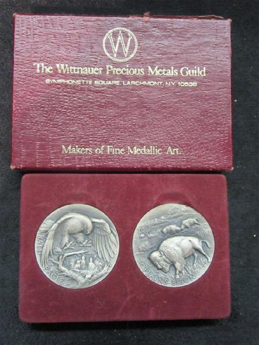 Wittnauer Silver Medallions