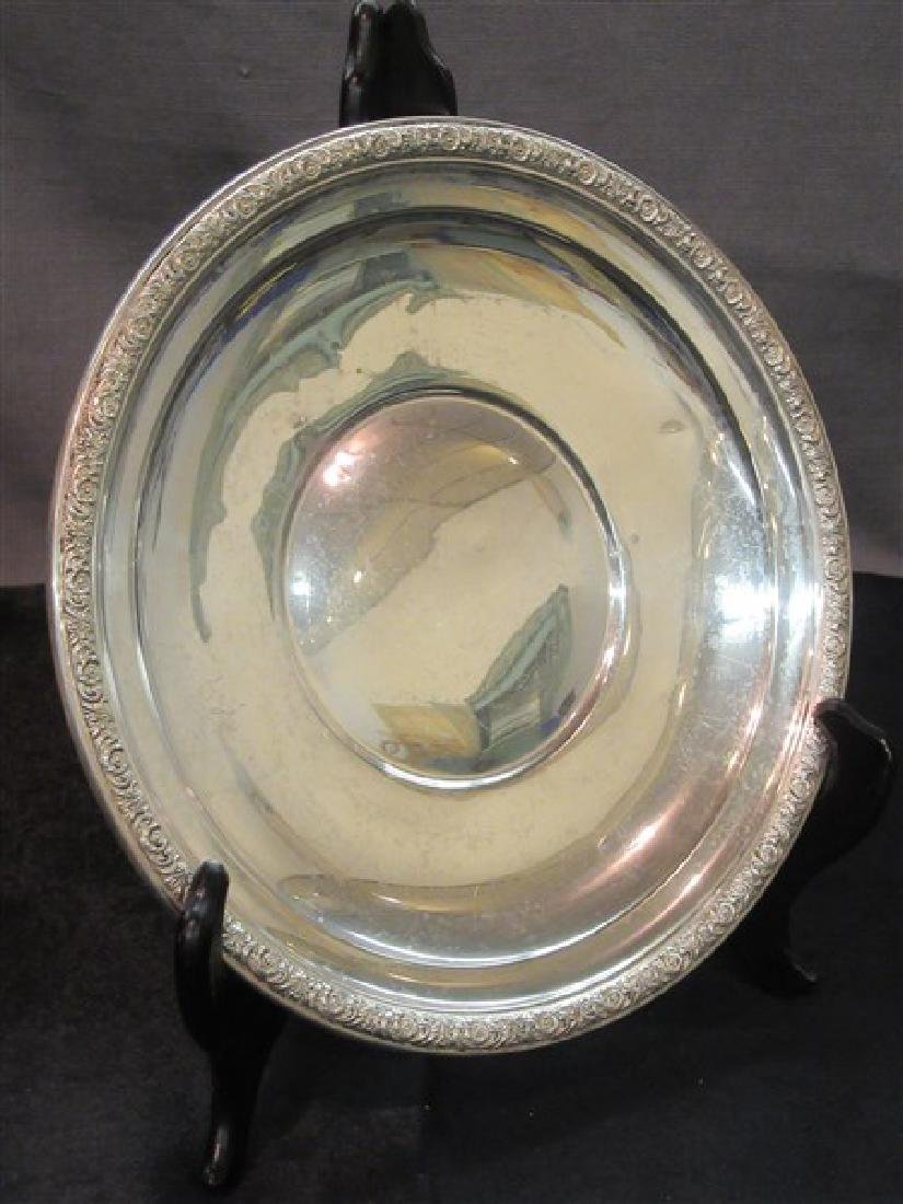 "International Sterling Silver Serving Tray ""Prelude"""