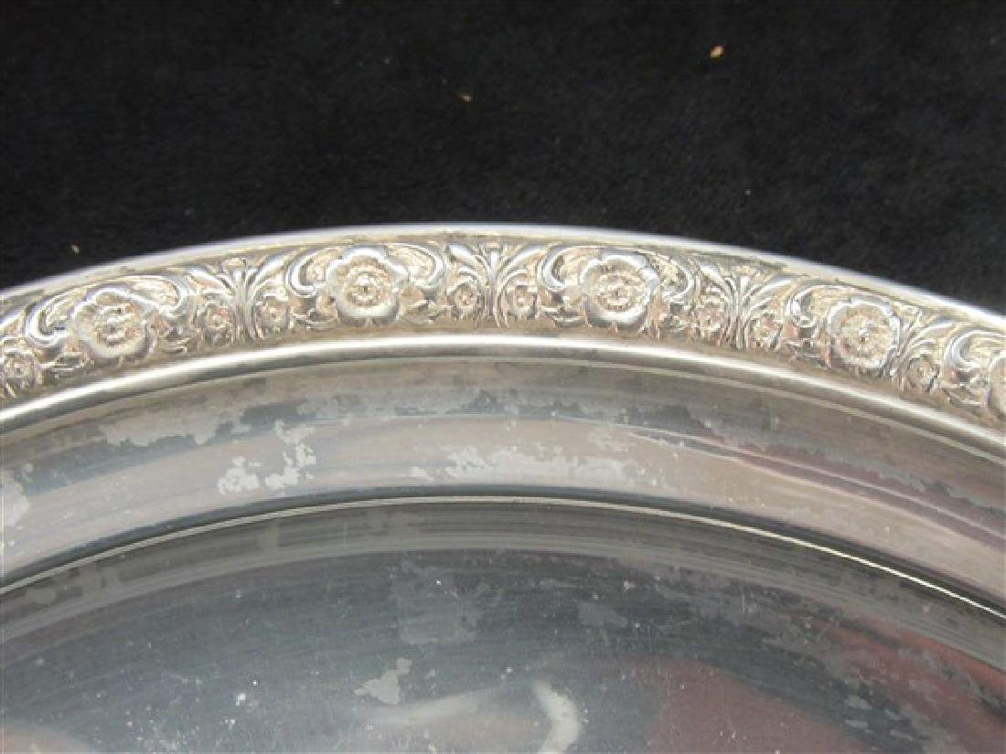 "International Sterling Silver Serving Tray ""Prelude"" - 2"