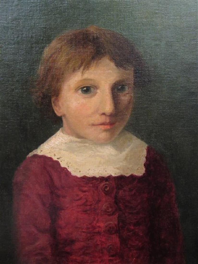 Oil Painting Portrait of Young Boy - 2