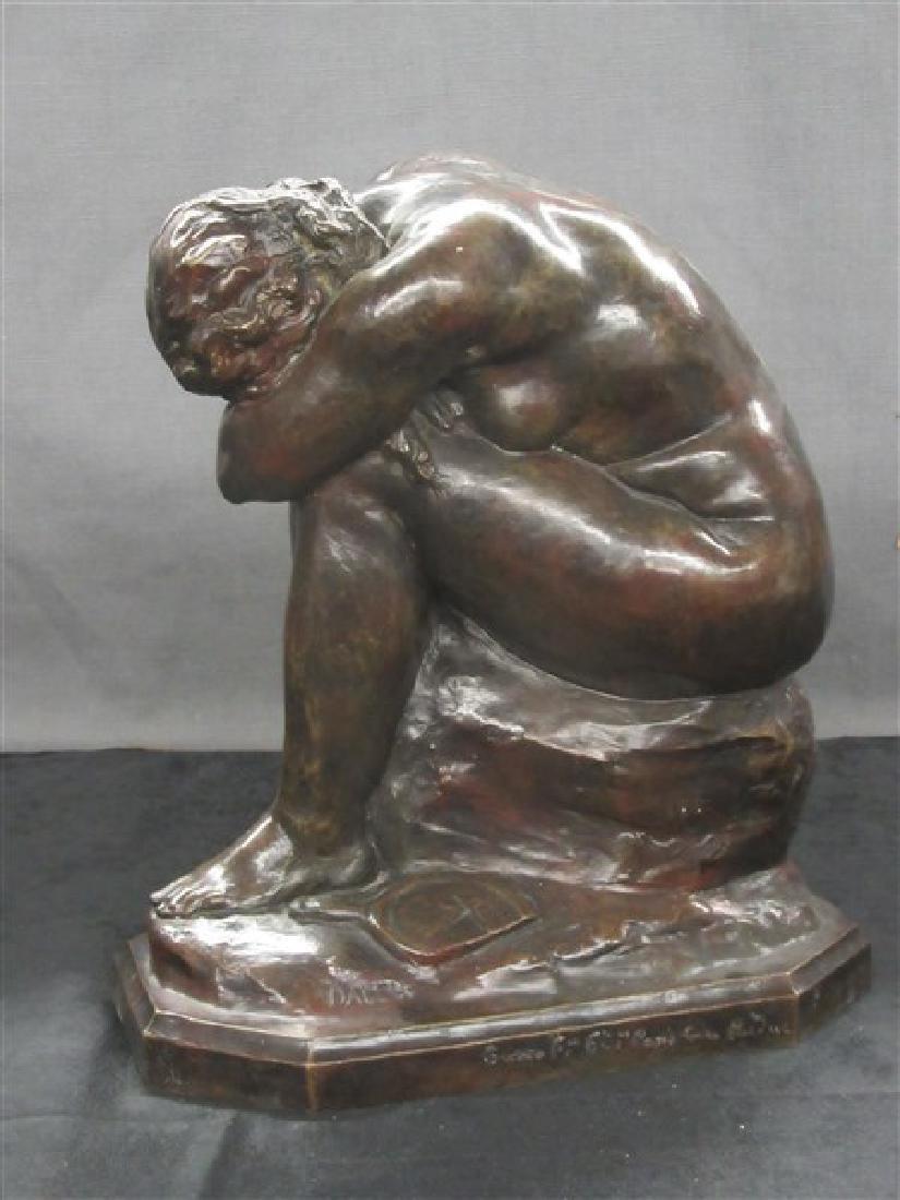 Jules Dalou ( French, 1838-1902) Bronze