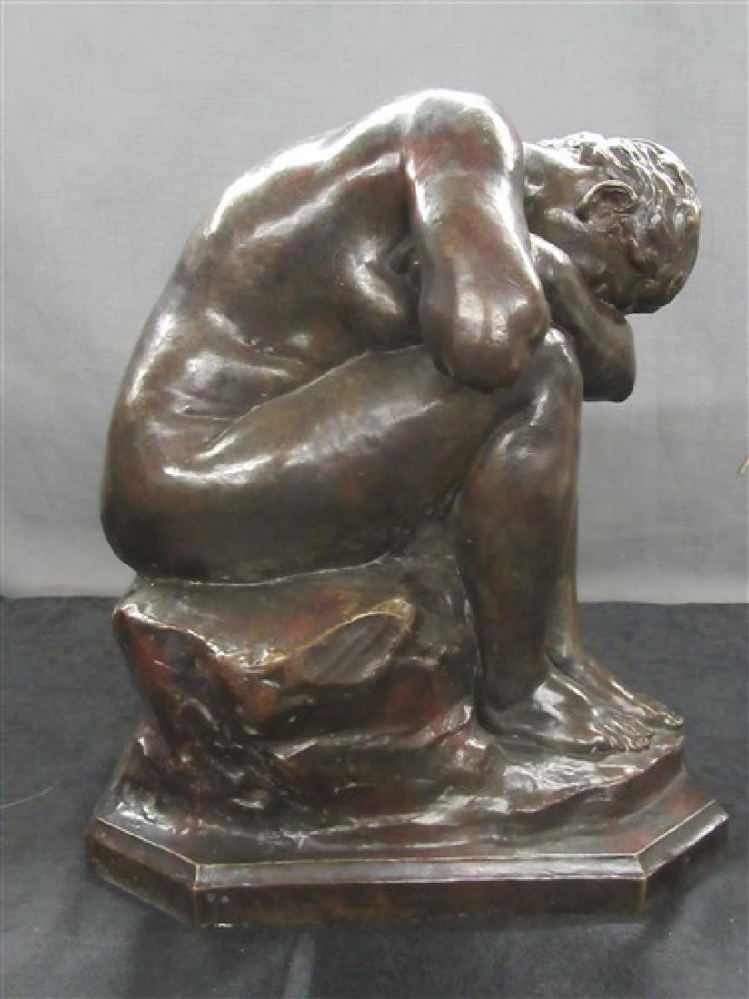 Jules Dalou ( French, 1838-1902) Bronze - 4