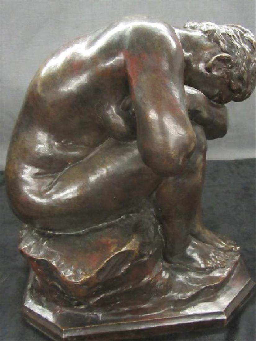 Jules Dalou ( French, 1838-1902) Bronze - 5