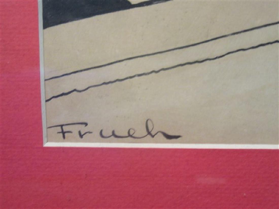 Alfred Frueh, Theatrical Scene - 3