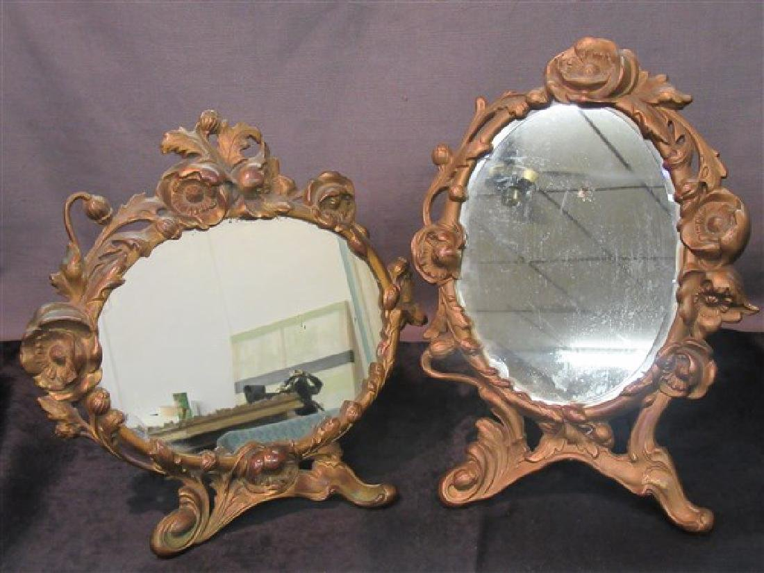 Two (2) Victorian Mirrors