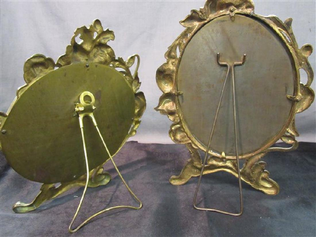 Two (2) Victorian Mirrors - 3