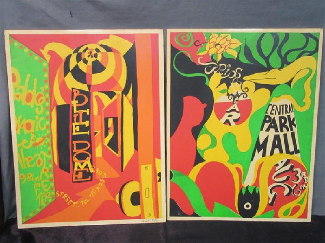 1960's New York Psychedelic Art Posters