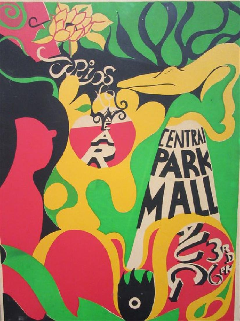 1960's New York Psychedelic Art Posters - 2