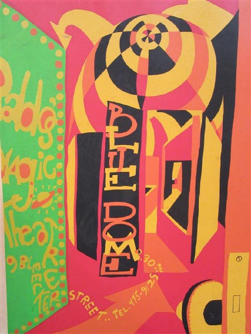 1960's New York Psychedelic Art Posters - 3