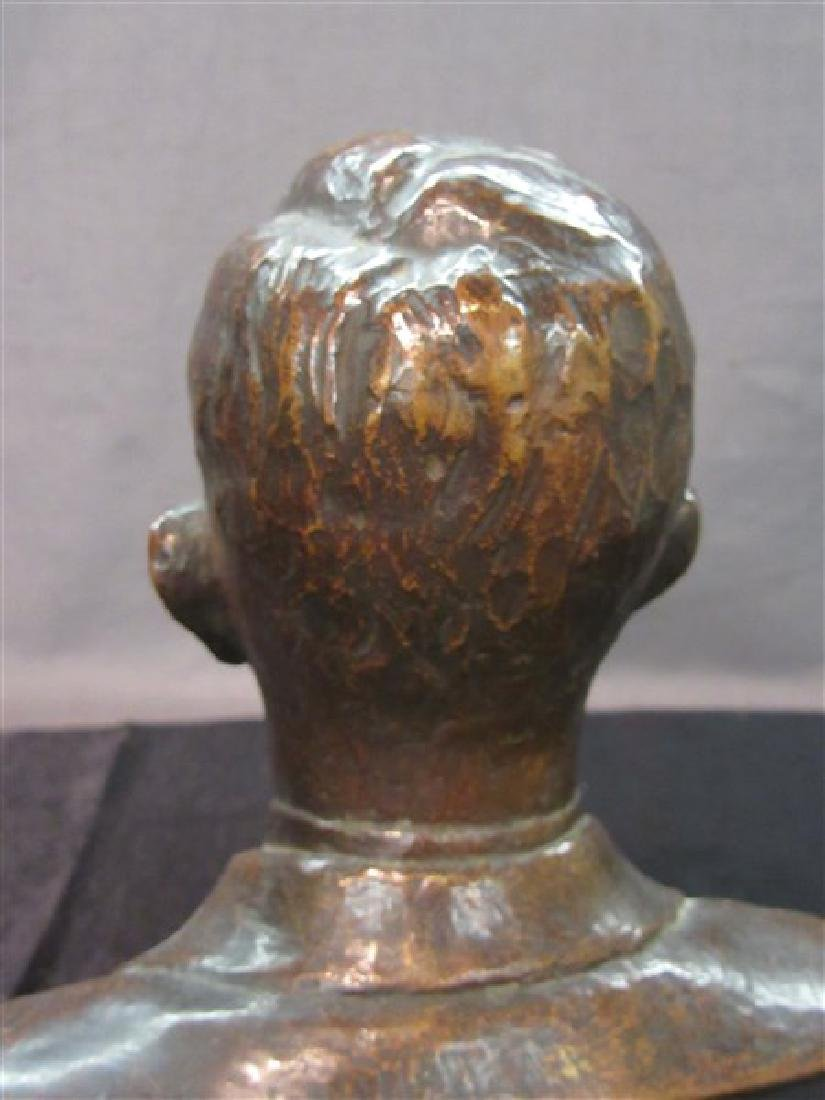 American Bronze Bust 19th c. - 5