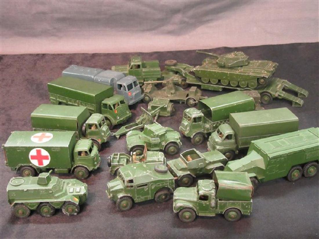 Dinky Military Toy Vehicle Lot