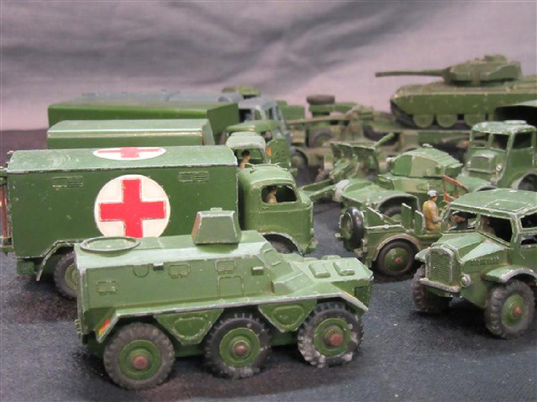 Dinky Military Toy Vehicle Lot - 2