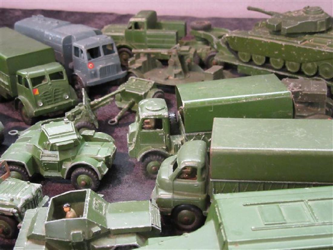 Dinky Military Toy Vehicle Lot - 3