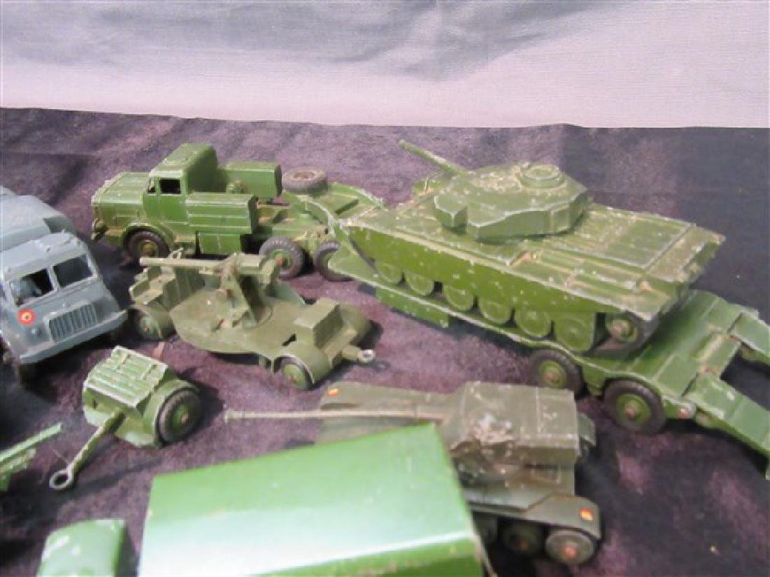 Dinky Military Toy Vehicle Lot - 4