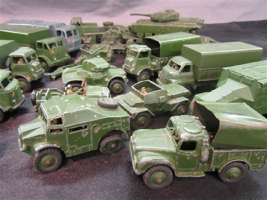 Dinky Military Toy Vehicle Lot - 5