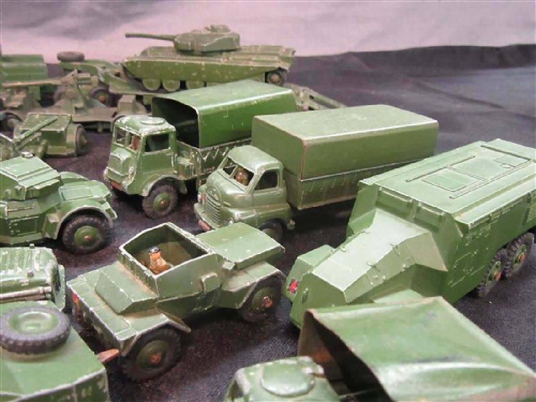 Dinky Military Toy Vehicle Lot - 6