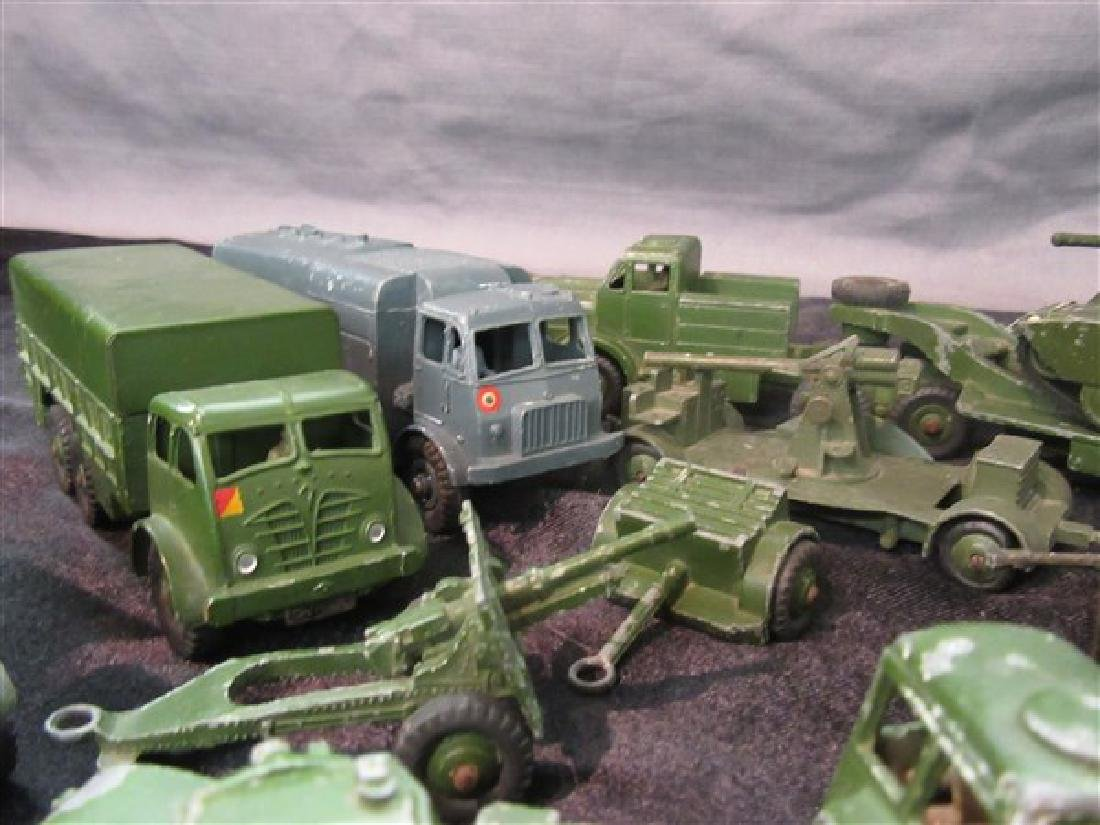 Dinky Military Toy Vehicle Lot - 7