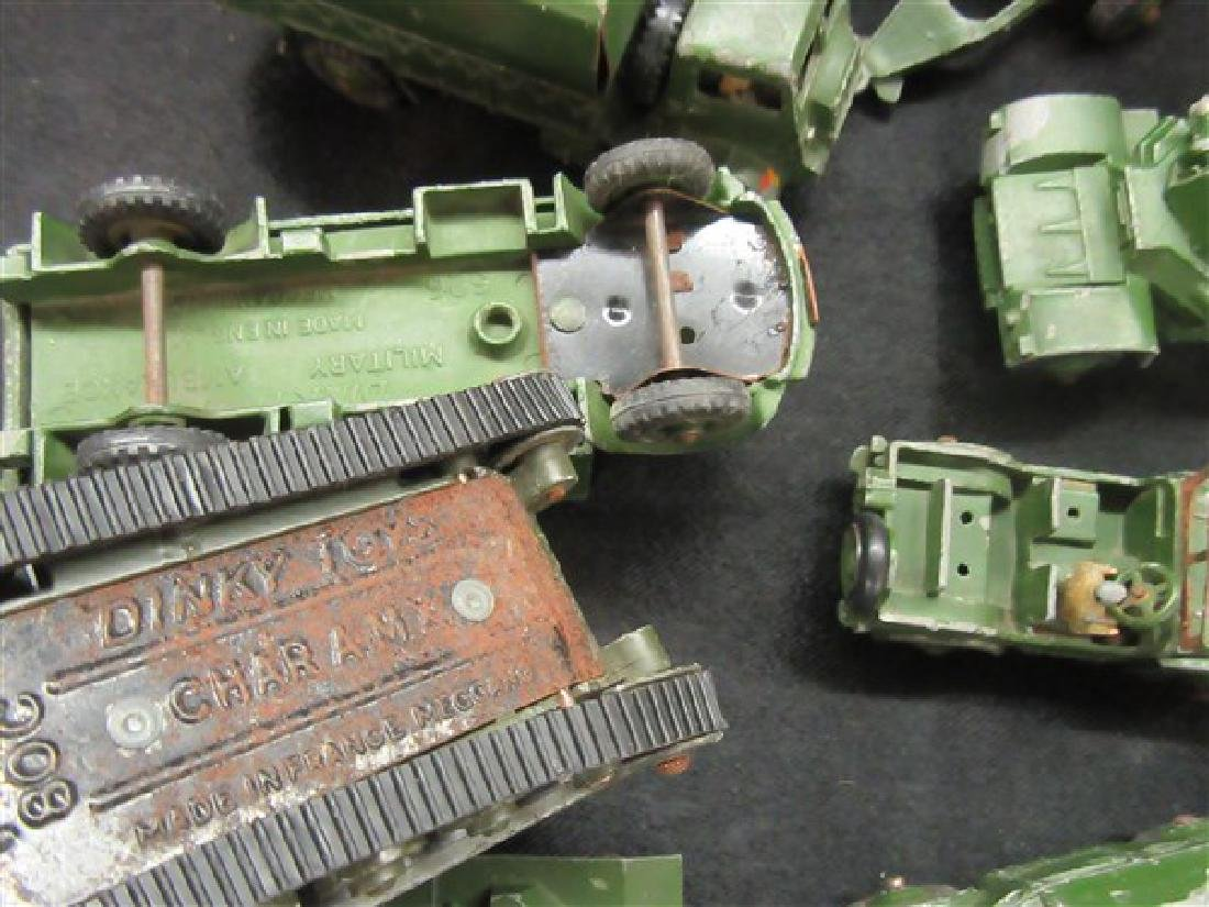 Dinky Military Toy Vehicle Lot - 8