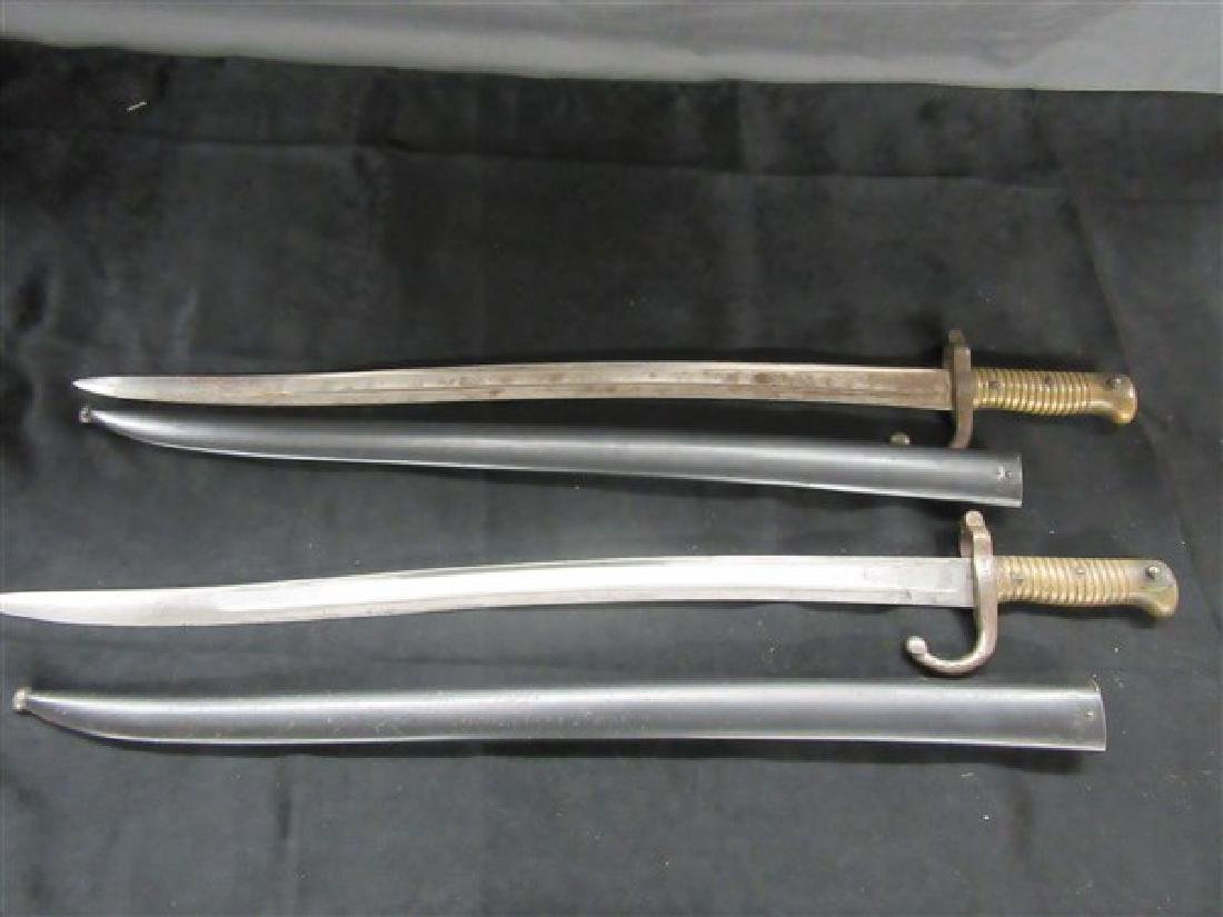 Two (2) Antique French Bayonets