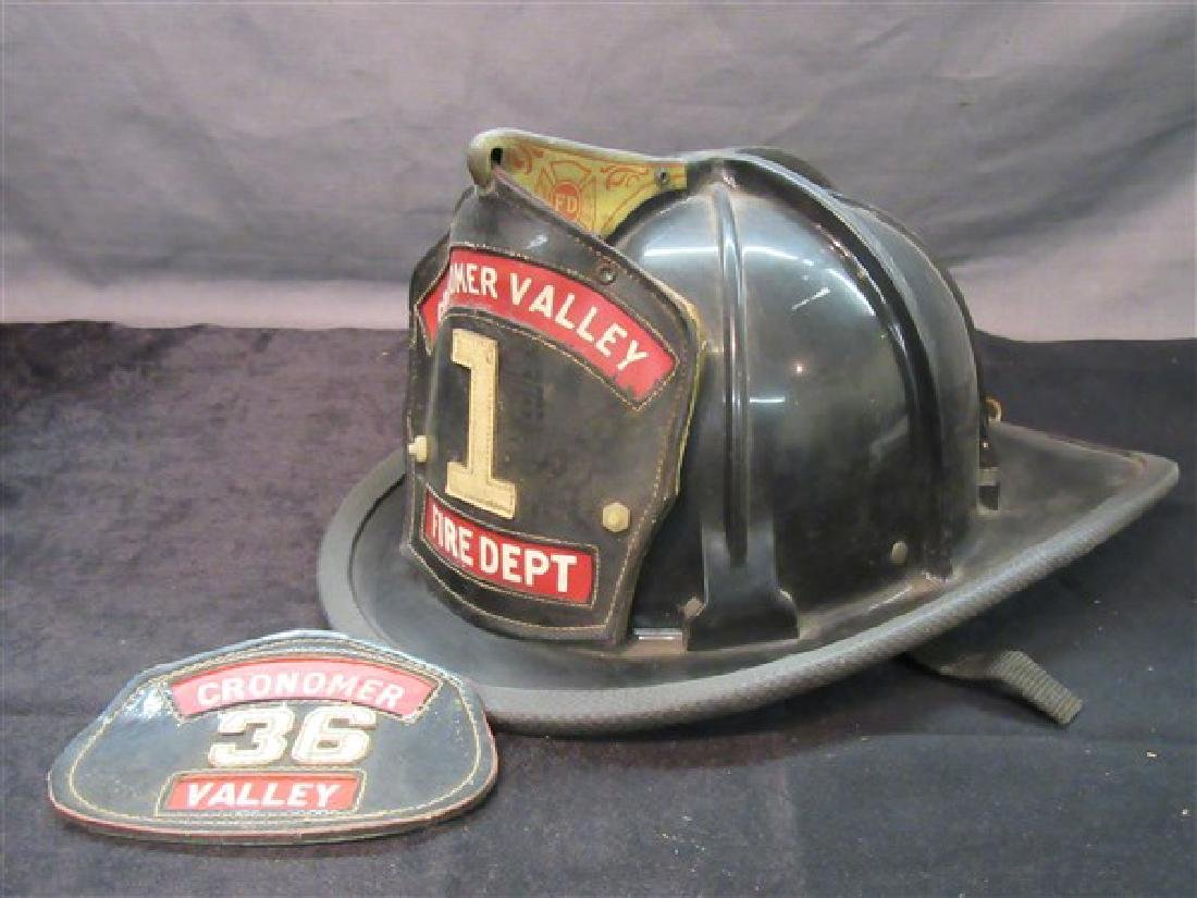 Cronomer Valley Newburgh NY Fire Helmet