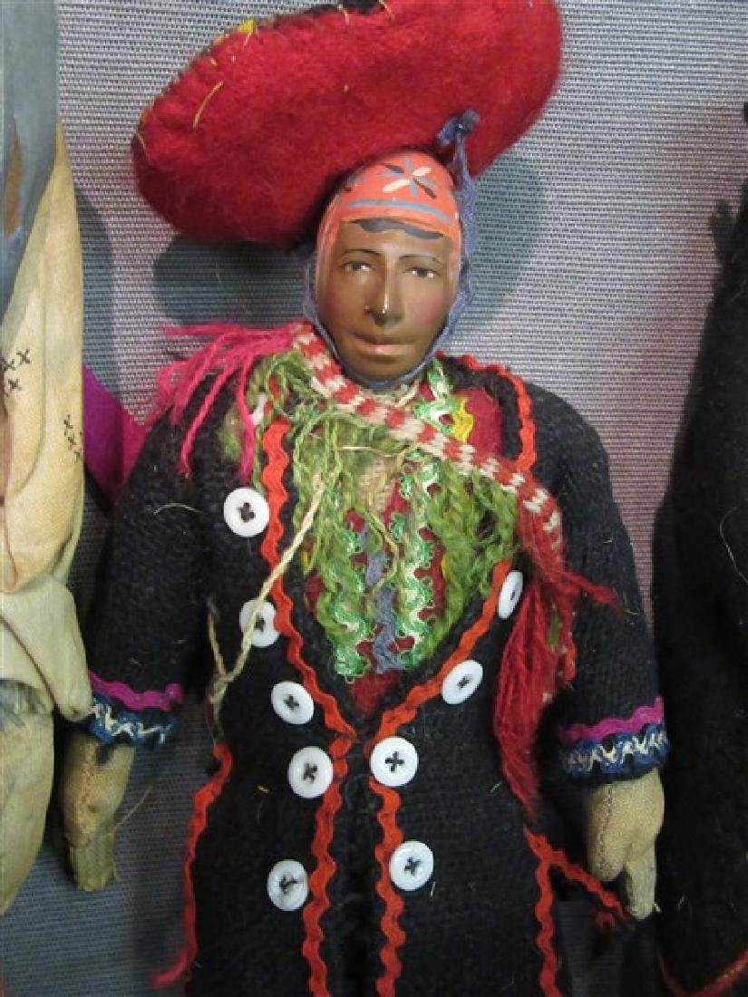 Five (5) American Indian Dolls - 3