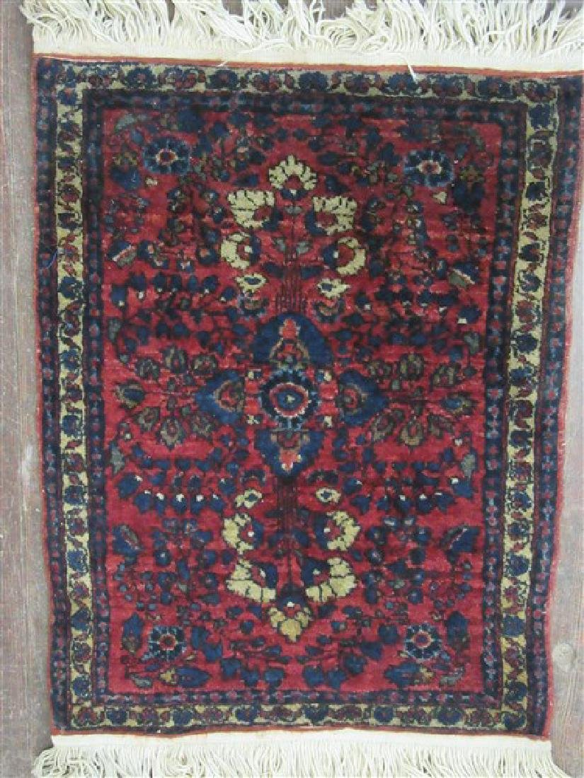 Sarouk Prayer Rug
