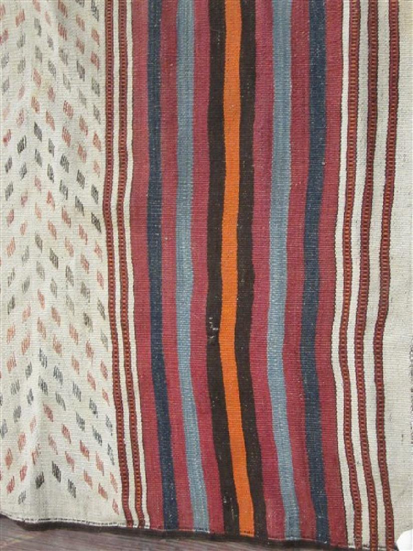 Navaho Indian Banded Rug - 2