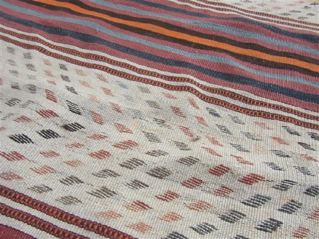 Navaho Indian Banded Rug - 3