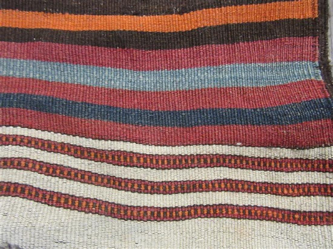 Navaho Indian Banded Rug - 4
