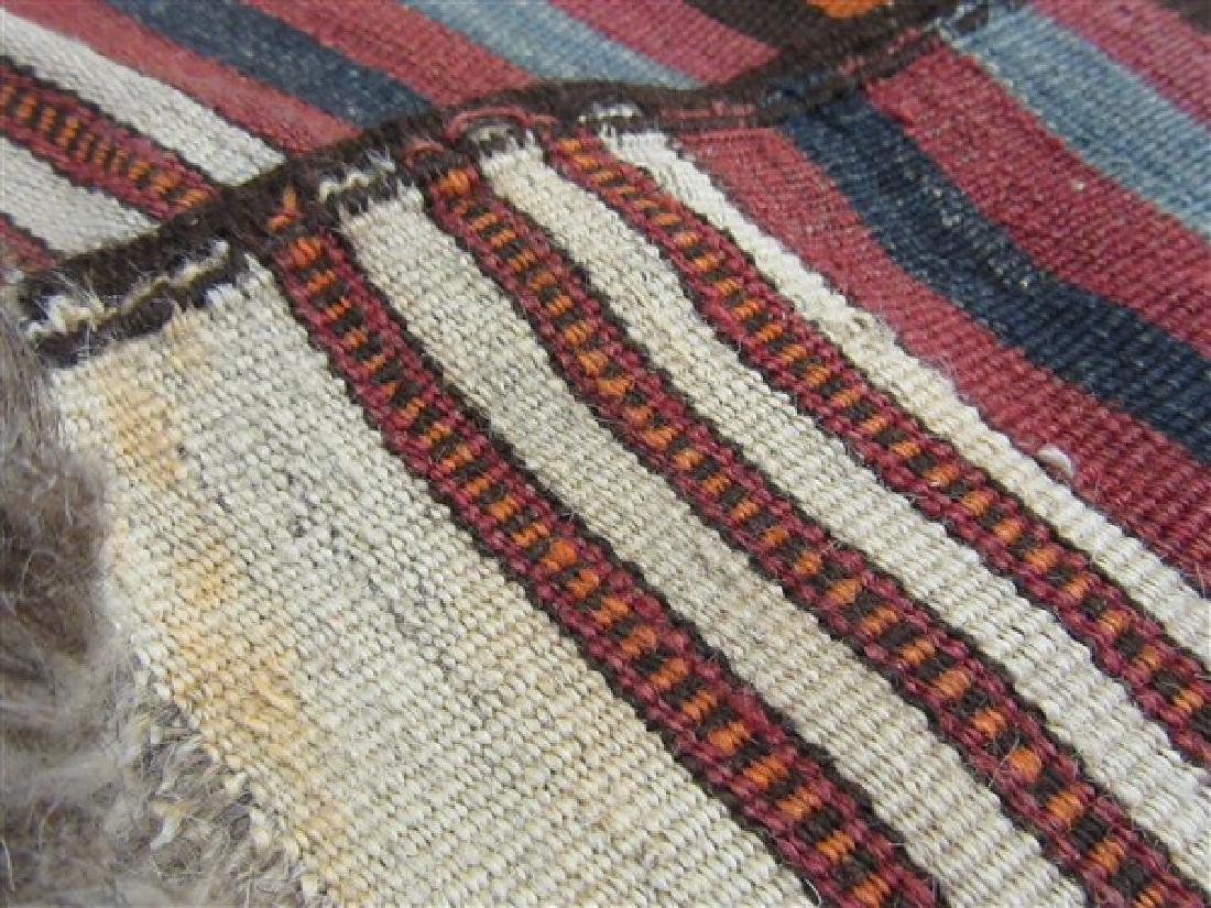 Navaho Indian Banded Rug - 5