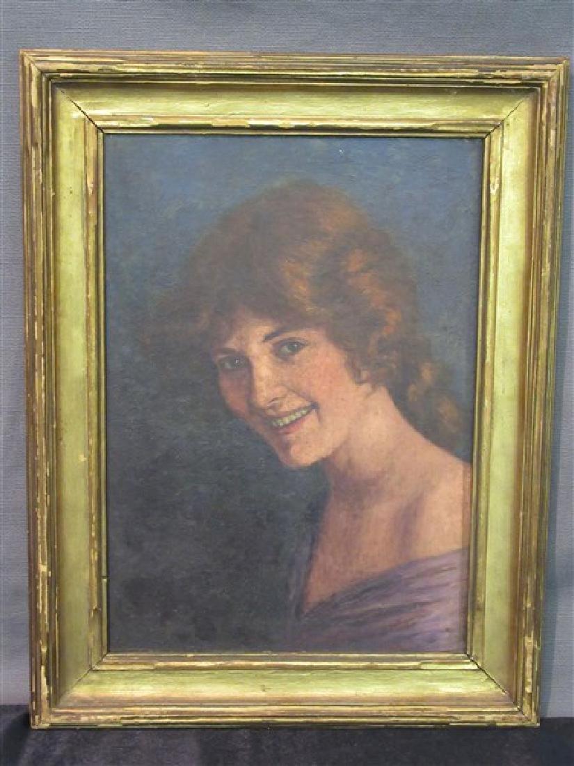 Aloysius O'Kelly (Irish/American 1853-1926)  Portrait