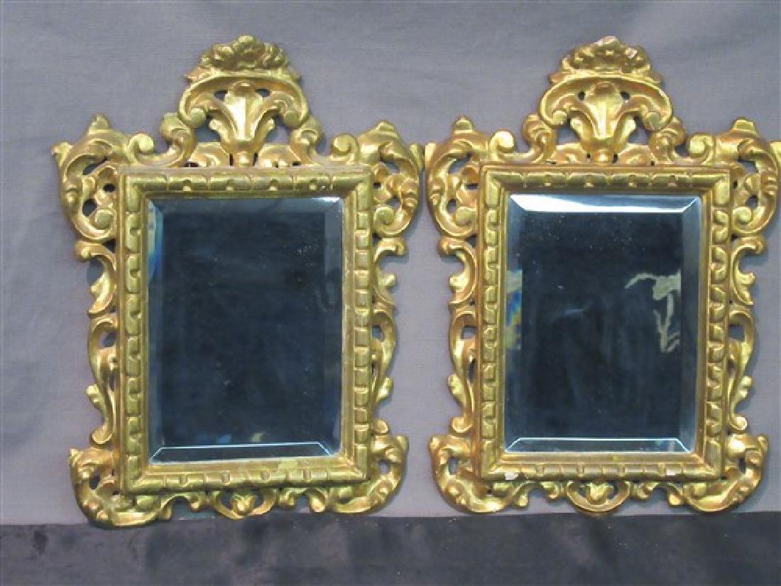 Vintage Italian Giltwood Mirrors